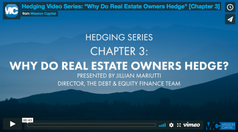 """Featured image for Hedging Series: """"Why Do Real Estate Owners Hedge?"""" [Chapter 3]"""