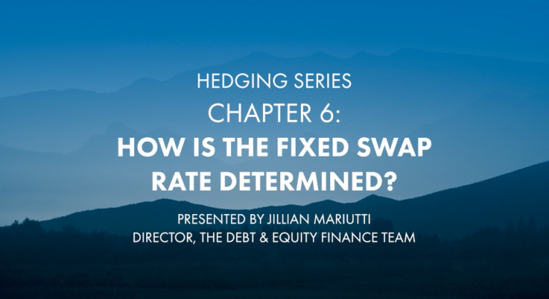 "Featured image for Hedging Series: ""How Is The Fixed Swap Rate Determined"" [Chapter 6]"