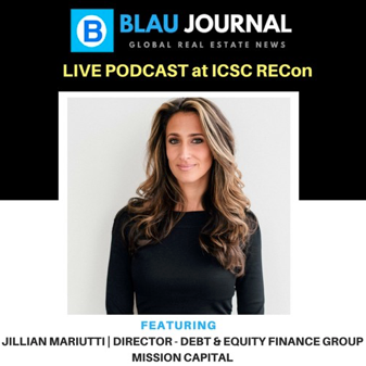 Featured image for Press: Podcast | Jillian Mariutti @ 2018 ICSC RECon