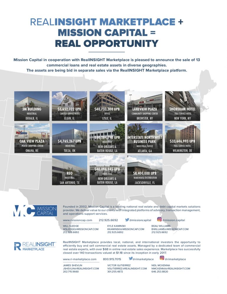 Featured image for Mission Capital + RealINSIGHT Marketplace = Retail Opportunity