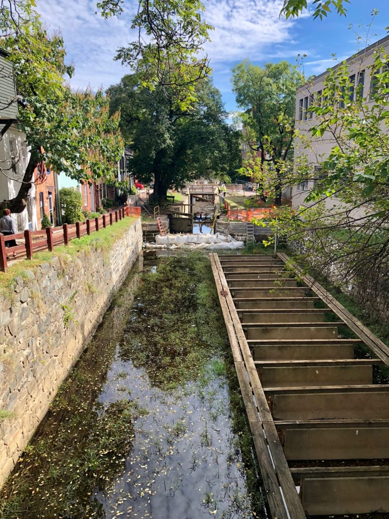 Featured image for C&O Canal In Georgetown (Washington, D.C.)
