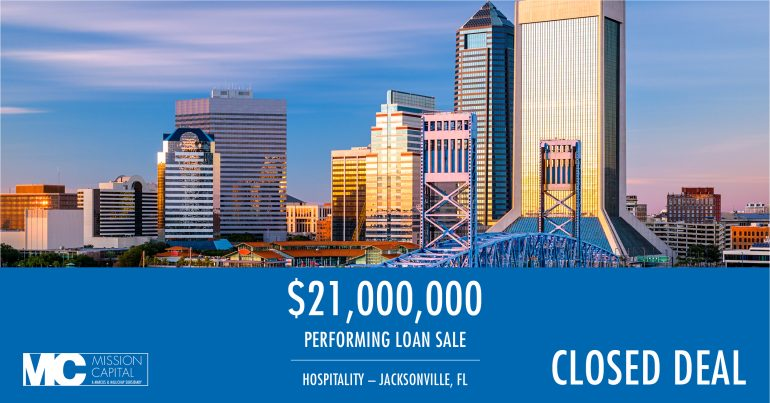 Featured image for CLOSED DEAL ALERT — $21,000,000 Performing Loan Sale