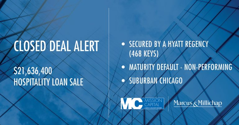 Featured image for CLOSED DEAL ALERT – $21,636,400 Hospitality Loan Sale